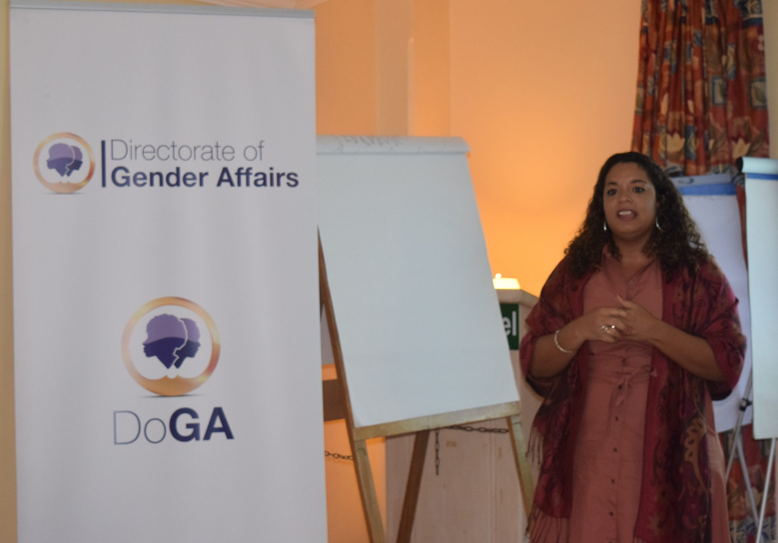 DoGA begins male advocacy training